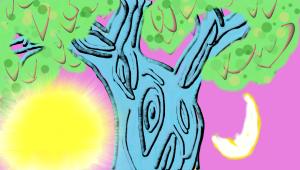 Sun Moon tree